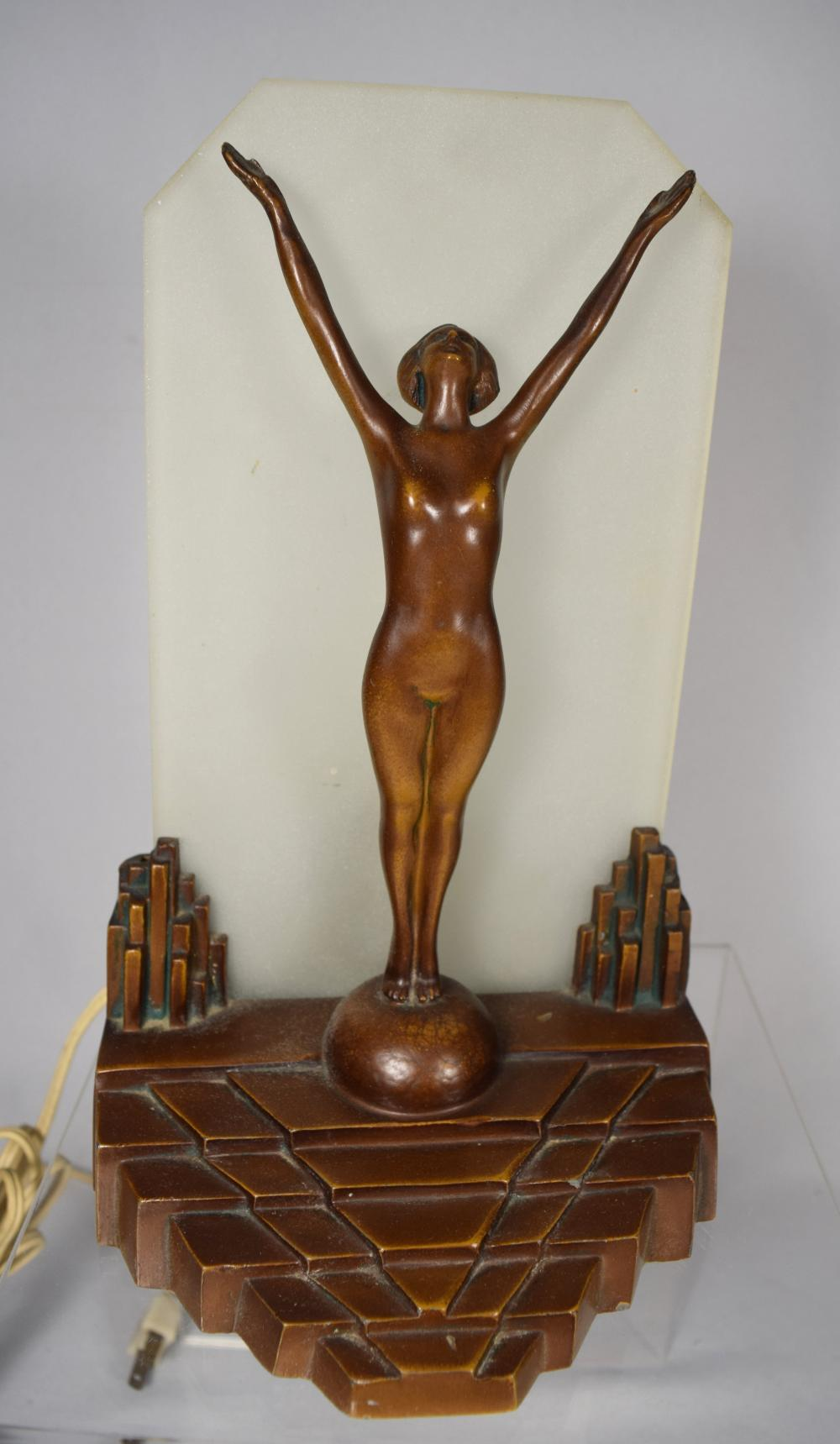 ART DECO LAMP: