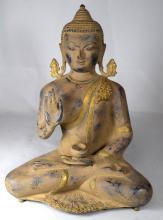 INDIAN TIBETAN BRONZE BUDHA: