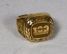 10KT GOLD HENDRICK MOTORSPORT MAN'S RING: