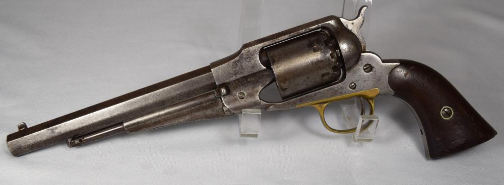 US CIVIL WAR  1858 REMINGTON NEW MODEL PERCUSSION REVOLVER: