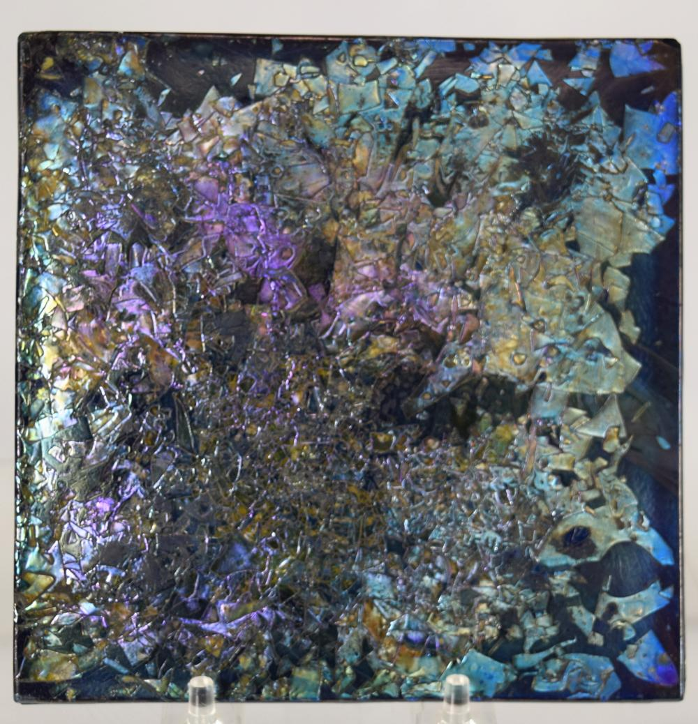 TIFFANY ART GLASS TILE: