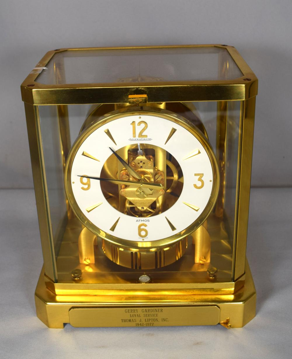 LE COULTRE ATMOS SWISS CLOCK: