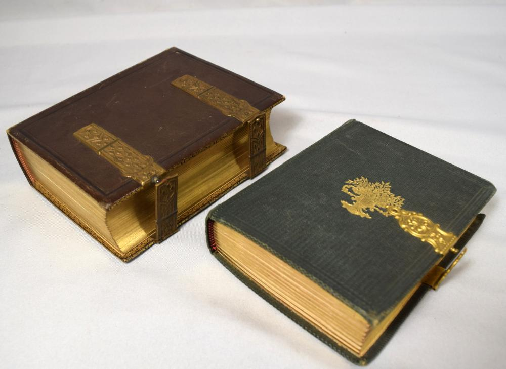 TWO VICTORIAN PHOTOGRAPH ALBUMS