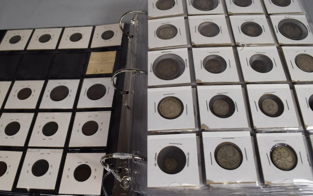 ASSEMBLED COINS, CURRENCY, TOKEN'S & MEDALS: