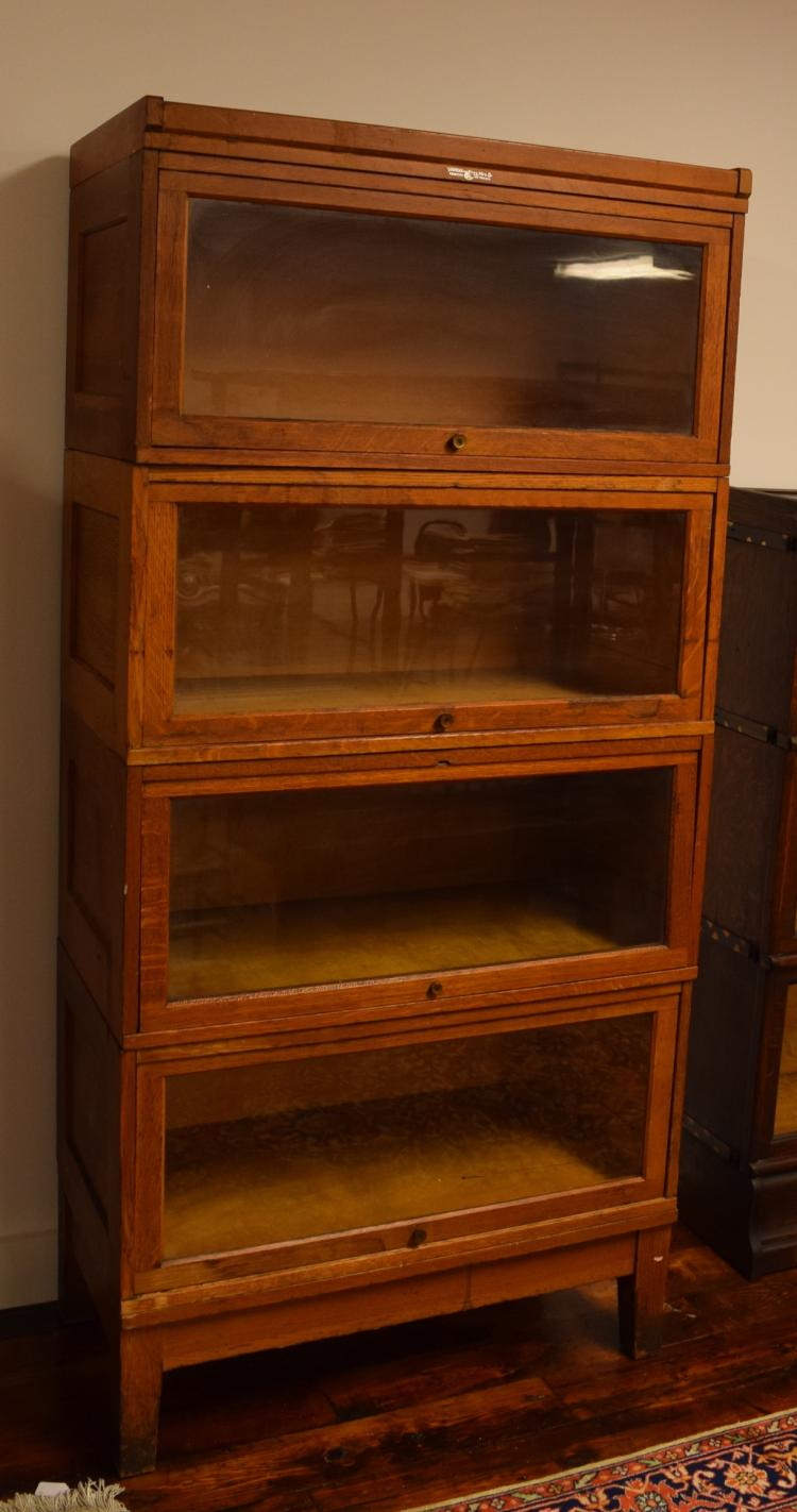 Yawman Frbe Mfg Co Bannister Section Bookcase