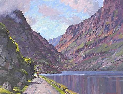 Seán O'Connor (1909-1992) THE GAP OF DUNLOE,