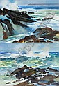 John Skelton (b.1923) ATLANTIC SURF, DINGLE, and, John (1923) Skelton, Click for value