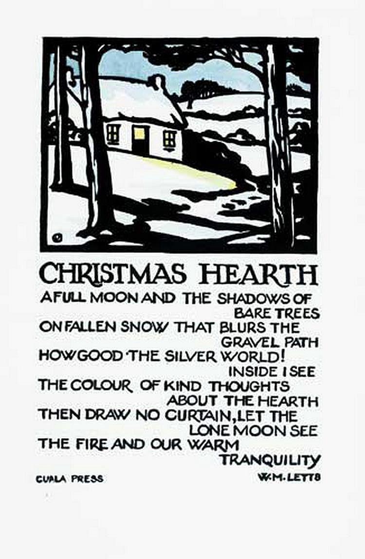 Dorothy Blackham (1896-1975) CHRISTMAS HEARTH