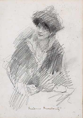 John Butler Yeats RHA (1839-1922) PORTRAIT OF