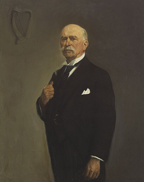 Thomas Ryan PPRHA (b.1929) DOUGLAS HYDE - PRESIDENT OF IRELAND, 1965