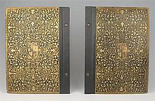1603-1609. James I of England leather and gilt binding, from the king's own library or service. (2)