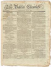 1742-1791: Early issues of The Dublin Chronicle and Dublin News-Letter