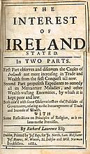 Lawrence, Richard. The Interest of Ireland in its Trade and Wealth stated