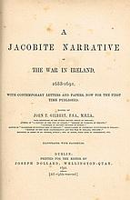 Gilbert, John T (ed.). A Jacobite Narrative of the War in Ireland, 1688-1691...