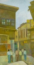 Hafidh Al-Droubi (Iraqi, 1914-1991) BAGHDAD STREET SCENE, 1988