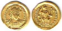 Roman Empire. Theodosius I, 379-395, AD, gold solidus