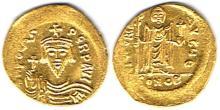 Roman Empire. Honorius, 393-423 AD, gold solidus