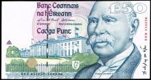 Central Bank of Ireland, Series 'C' Fifty Pounds, 14.02.96.