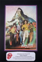 Rolling Stones, 1976 tour programme signed by the band.
