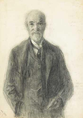 John Butler Yeats RHA (1839-1922) SELF PORTRAIT,