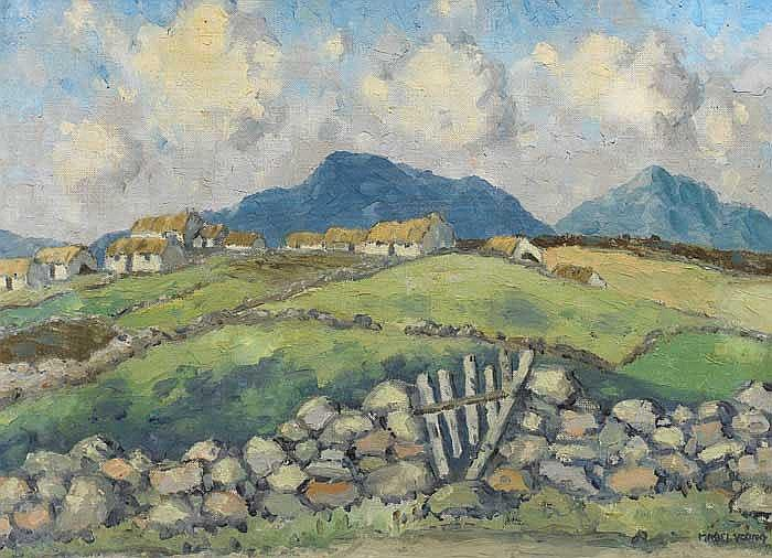 Mabel Young (1889-1974) WEST OF IRELAND LANDSCAPE