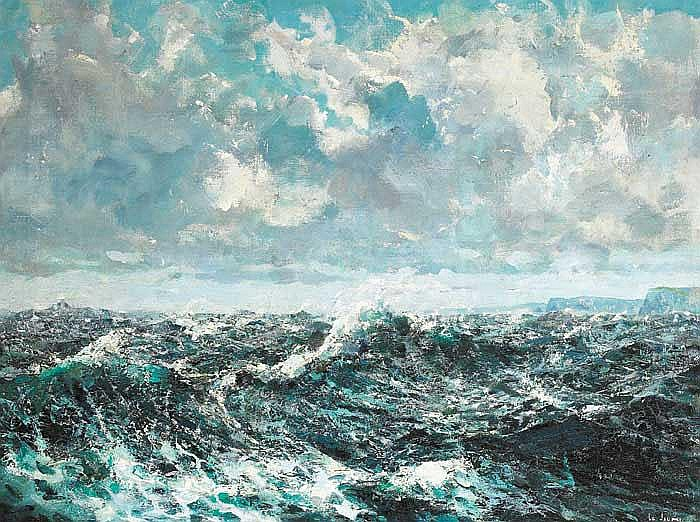 James le Jeune RHA (1910-1983) THE PERFECT STORM -
