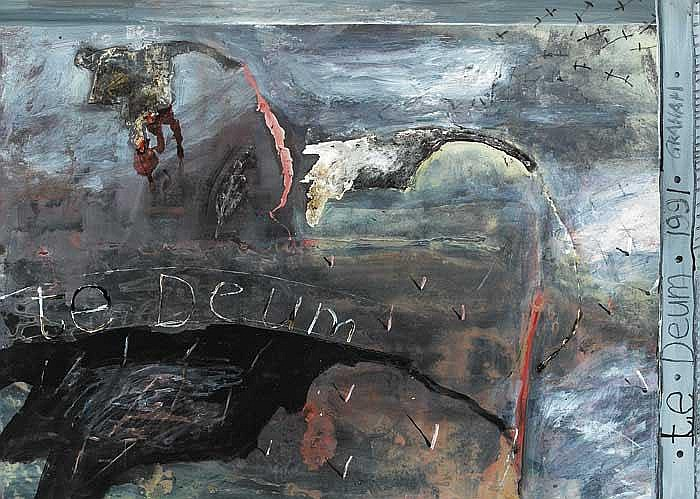 Patrick Graham (b.1943) TE DEUM II, 1991 signed,