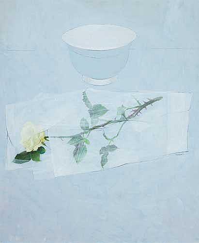 Terence P. Flanagan RHA PPRUA (b.1929) A ROSE