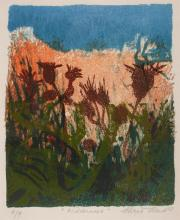 Chris Reid (b.1918) WILDERNESS, 1969 and THE MADDING CROW, 1976D (A PAIR)