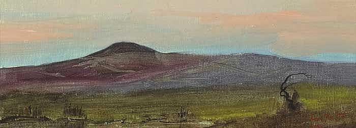 Adam Kos (b. 1956)  COUNTY WESTMEATH, 1997 and COUNTY SLIGO LANDSCAPE, 1996