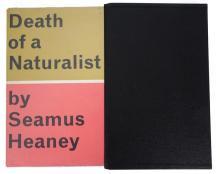 Heaney, Seamus. Death of a Naturalist, first edition.