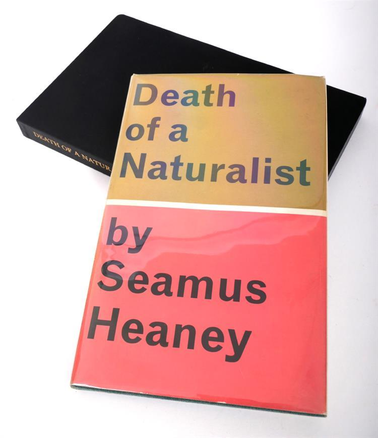 a review of heaneys book death of a naturalist 1966 Erhaps the best descriptions of seamus heaney's extraordinarily rich and   although the early nature poems in death of a naturalist (1966),.