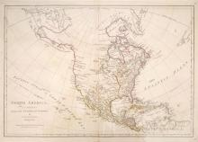 1774 North America as Divided amongst the European Powers.