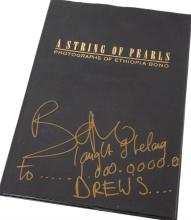 Bono, String of pearls, limited edition, signed to the dust jacket by Bono