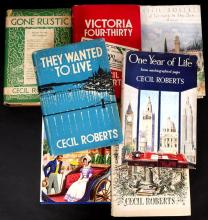 Cecil, Robert. Signed first editions.
