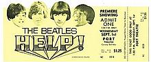 The Beatles: Help! movie premiere advanced ticket