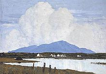 Paul Henry RHA (1876-1958) THE LAKE, 1928