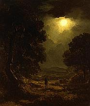 James Arthur O'Connor (1792-1841) A MOONLIT LANDSCAPE