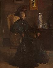 Sir Gerald Festus Kelly PRA RHA HRSA (1879-1972) PORTRAIT OF THE ARTIST'S MOTHER