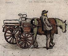 William Conor OBE RHA RUA ROI (1881-1968) THE SIDE CAR, 1910