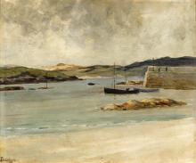 James Humbert Craig RHA RUA (1877-1944) PORTNABLAGH, COUNTY DONEGAL, 1921