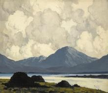 Paul Henry RHA (1876-1958) LOUGH ALTAN, COUNTY DONEGAL, c.1934-38