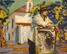 Seán Keating PRHA HRA HRSA (1889-1977) REST AFTER TOIL, 1924