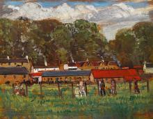 Maurice MacGonigal PPRHA HRA HRSA (1900-1979) BALLYKINLAR INTERNMENT CAMP, COUNTY DOWN, 1921