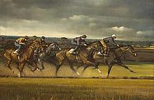 Peter Curling (b.1955) ON THE GALLOPS