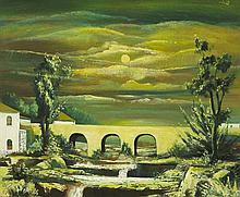 Daniel O'Neill (1920-1974) THE BRIDGE, c.1963