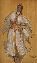 Sir John Lavery RA RSA RHA (1856-1941) DANCING GIRL, 1892