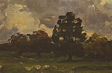 Nathaniel Hone RHA (1831-1917) TREES IN MALAHIDE, COUNTY DUBLIN