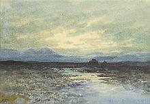 William Percy French (1854-1920) BOG LAKE