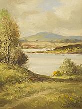 Maurice Canning Wilks RUA ARHA (1910-1984) CORNER OF LOUGH ERNE, COUNTY FERMANAGH